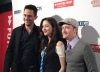 Billy Campbell, Katie Findlay and Eric Ladin