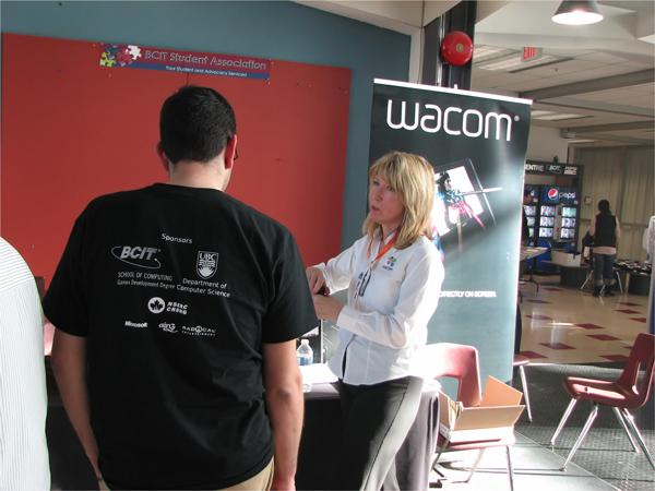 Wacom Was A Sponsor
