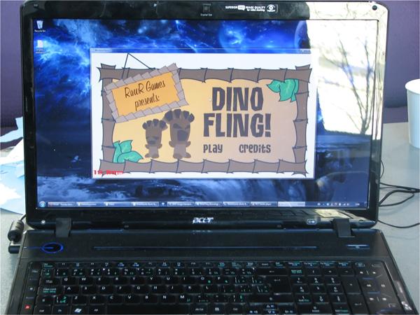 Dino Fling Opening